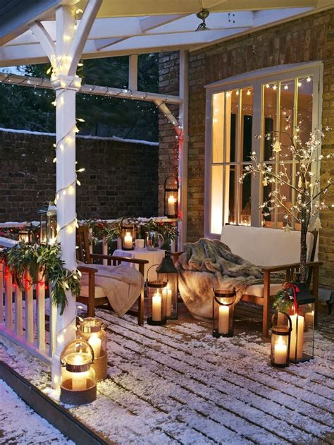 christmas patio decorating redecorating ideas to enjoy your patio in the fall