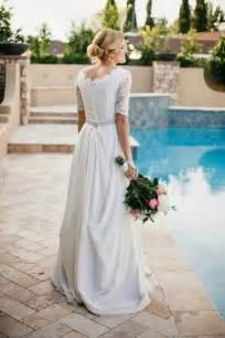 wedding dress me beautiful chiffon lace wedding dress with modest sleeves wedding inspirations