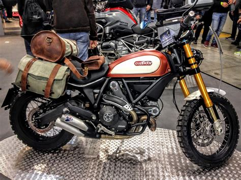 Hepco-becker-modified Ducati Scrambler