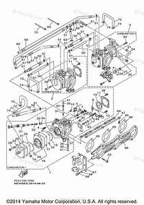 Yamaha Waverunner 2001 Oem Parts Diagram For Carburetor