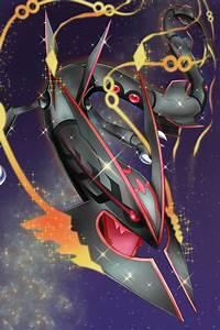 Shiny Mega Rayquaza | pokemon art | Pinterest | Pokémon ...
