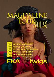 "FKA twigs Announces 2019 ""Magdalene Tour"" 