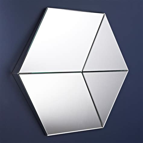 plantation home interiors deknudt decora hexagon mirror 2573 162