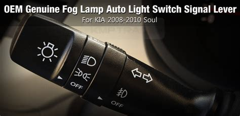 Oem Genuine Fog Lamp Auto Light Switch Signal Lever For
