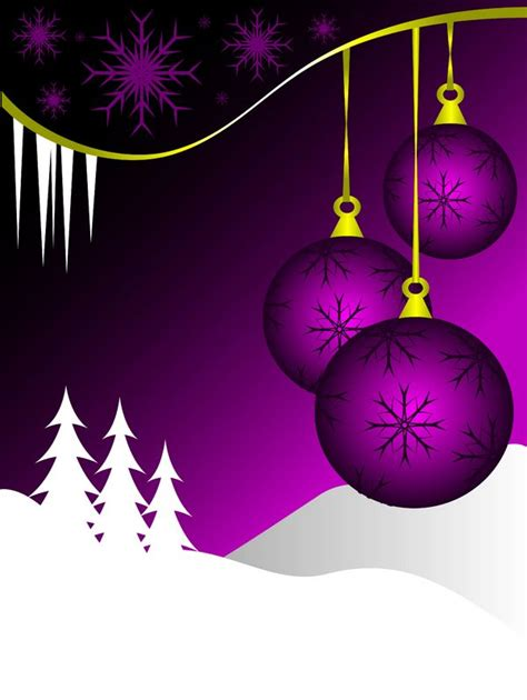 Purple Ornaments Wallpaper by Purple Thanksgiving New
