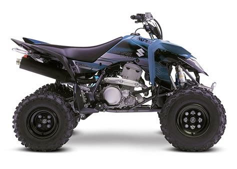 blue skull suzuki shock covers quadsport lt   ltz