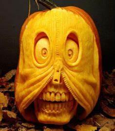 Kürbis Schnitzen Muster : halloween k rbis schnitzen art gelangweilt halloween pinterest halloween deko und kunst ~ Markanthonyermac.com Haus und Dekorationen