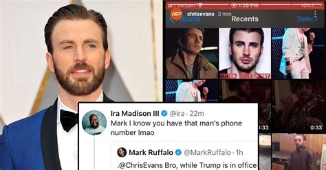 Chris Evans Accidentally Shared A NSFW Pic On IG