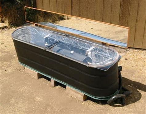 diy stock tank solar water heater
