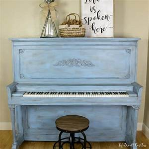 Upright Piano After Chalky Paint Make-Over: The Reveal ...