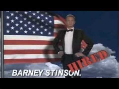 Barney Stinson Resume Song Lyrics by Barney Stinson Awesome Song With Lyrics That S Awesome