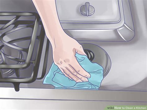 How to Clean a Kitchen (with Pictures)   wikiHow