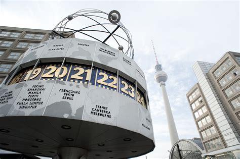stock photo  berlin world clock photoeverywhere