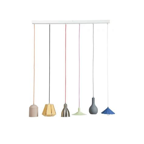 suspension cuisine design suspension éaire el mundo dining 6l multicouleur kare