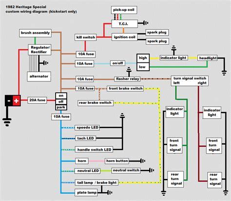 1982 xs650 wiring diagram 25 wiring diagram images