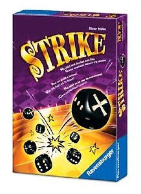 Ravensburger Galda spēle Strike, no 8 gadiem 26572   Galda ...