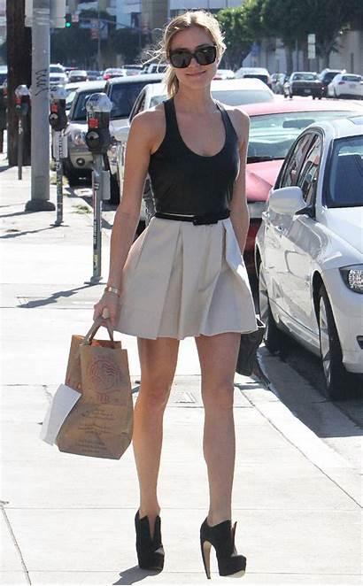Kristin Cavallari Short Leather West Hollywood Shopping