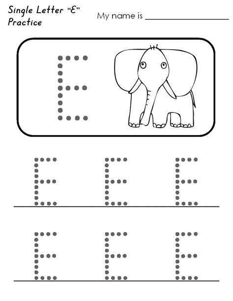 letter e worksheets preschool worksheet for kindergarten letter e worksheet example 307