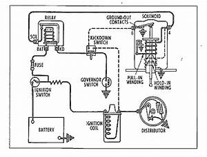 Overdrive Circuit Diagram For The 1956 Delco Remy 12 Volt