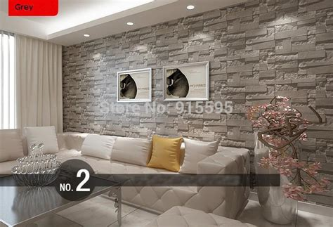 Living Room Designs Homebase by Stacked Brick 3d Wallpaper Modern Wallcovering Pvc