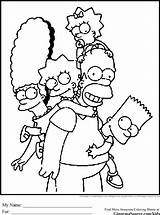 Coloring Simpsons Simpson Colouring Printable Sheets Cartoon Cartoons Colour Disney Yellow 1989 Colorin Adult Birthday Printcolorcraft Getcolorings Meet Visit Aired sketch template