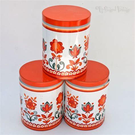 orange storage jars kitchen the 25 best tea coffee sugar canisters ideas on 3766