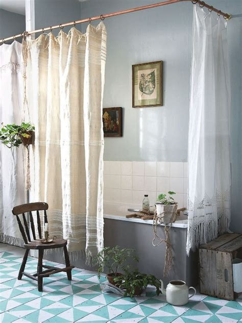 Tub Curtain by Best 25 Shower Curtain Rods Ideas On Cer