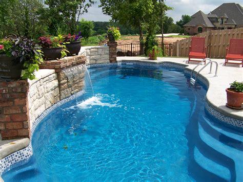 fiberglass pool designs fiberglass pools tile and concrete images swimming pool