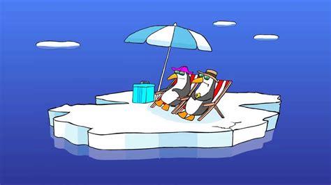 lustige pinguine urlaub auf der eisscholle youtube