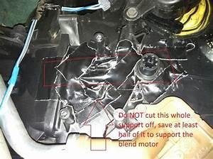 2003 Dodge Caravan Broken Blend Door Hack
