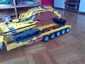 Lego Technic Kaufen : lego schwertransport tieflader phase ii youtube ~ Jslefanu.com Haus und Dekorationen