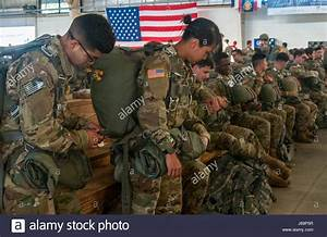 Paratroopers assigned to the 82nd Airborne Division ...