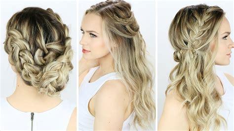 ideas  cute easy wedding hairstyles  long hair