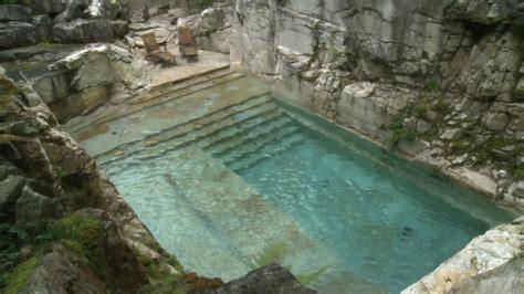 swim   luxurious quarry turned pool video personal