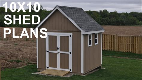 shed plans  storage shed designs youtube