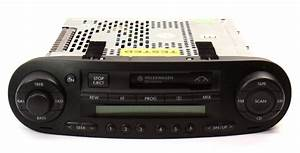 Radio Am  Fm Cassette Head Unit Vw Beetle 98
