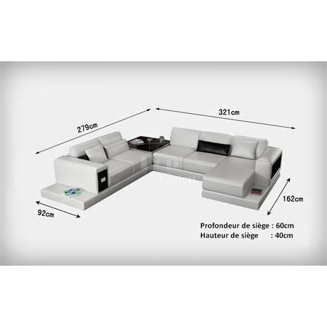 dessus de canapé d angle canapé d 39 angle design panoramique en cuir arezzo pop