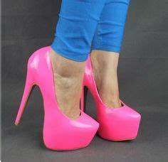 Pink Neon High Heels