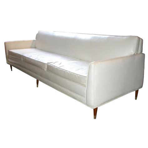 white vinyl sectional sofa white vinyl sofa at 1stdibs