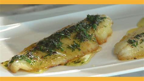 cuisine sauce blanche sauce meuniere pour poissons
