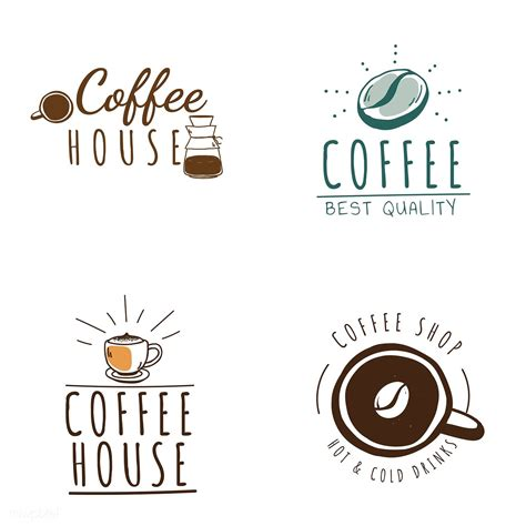 Join us for our live photoshop & poster design workshop with oscars & peloton designer, temi coker, on may 19! Set of coffee shop logos vector | free image by rawpixel.com | Coffee shop logo, Shop logo ...
