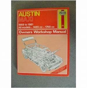 Austin Maxi Workshop Manual 1982 0856968927 On Ebid United