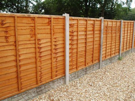 Fence Panel Waney Lap 6ft W X 3ft H / 1.8m X 90cm