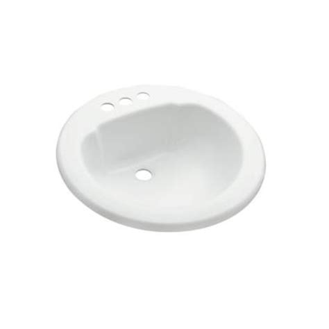 Home Depot Sinks Drop In by Drop In Bathroom Sink In White Discontinued 65020140 N 0