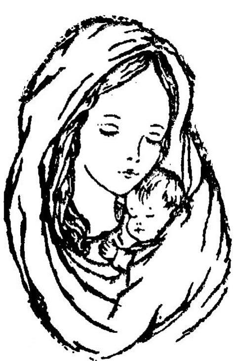 disegni madonna con bambino da colorare madonna con bambino ges 249 disegno da colorare gratis