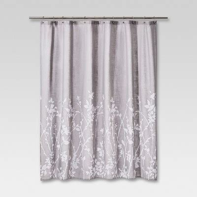 Target Shower Curtains by Floral Print Shower Curtain Gray Project 62 Target