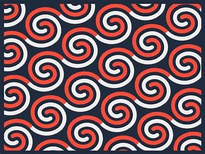 Maori Pattern Behance Moodboard