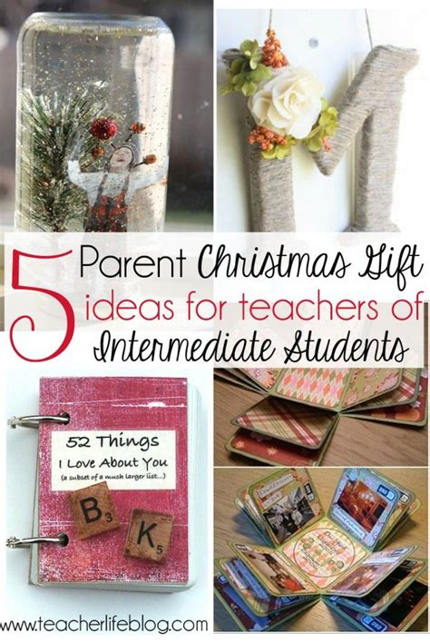 inexpensive student christmas gifts 5 diy and inexpensive parent gift ideas for teachers of big these ideas are