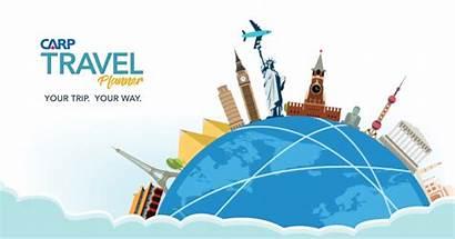 Travel Planner Carp Save Clipart Planning Trip