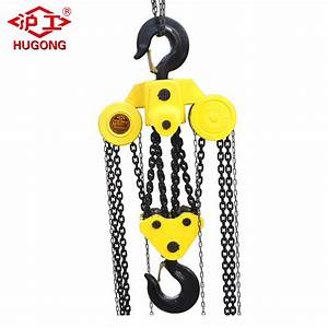 China 10 Ton Heavy Duty Manual Chain Block Wholesale Chain